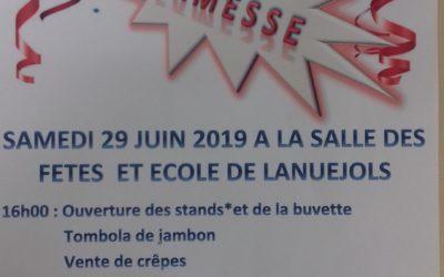 Kermesse des écoles de Trèves et Lanuéjols