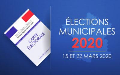 Les élections municipales de 2020