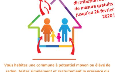 """Campagne ARS : """"Du Radon dans ma maison?"""""""