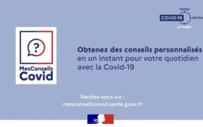 site officiel www.MesConseilsCovid.sante.gouv.fr